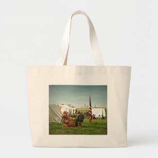 Lunch Time Large Tote Bag