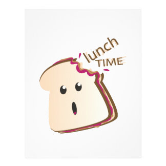Lunch Time Customized Letterhead