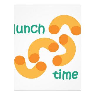 Lunch Time Letterhead