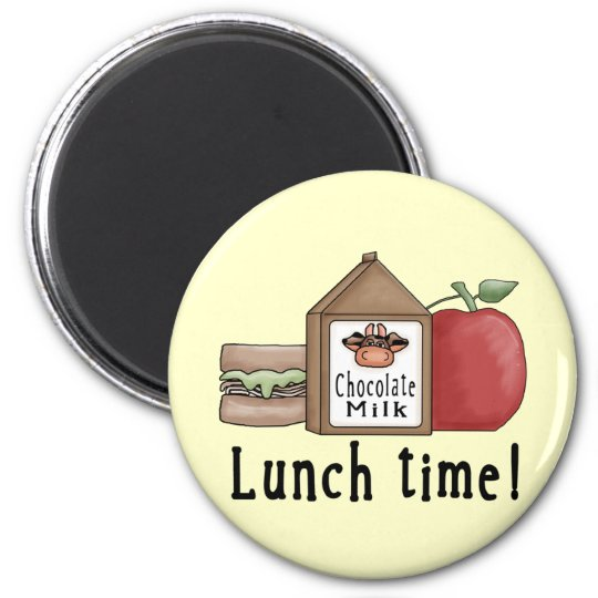 Lunch Time Magnet