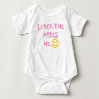 LUNCH TIME MAKES ME HAPPY SHIRT