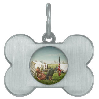 Lunch Time Pet Name Tag