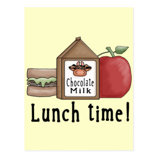Lunch Time Postcard