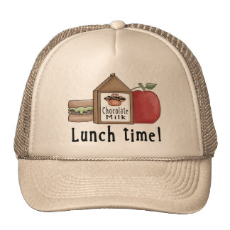 Lunch Time Trucker Hat