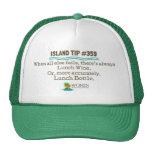 Lunch Wine Cap (green) Hat