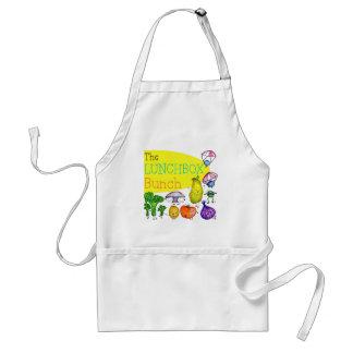 Lunchbox Bunch Logo Adult Apron