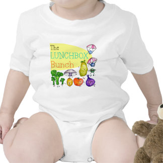 Lunchbox Bunch Logo Baby Bodysuits