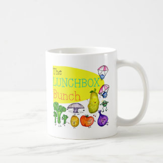 Lunchbox Bunch Logo Classic White Coffee Mug