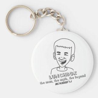 Lunchbox The Man, The Myth, The Legend Basic Round Button Keychain