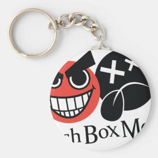 LunchBoxMode Logo items Basic Round Button Keychain