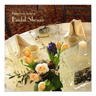 Luncheon Bridal Shower Invitation