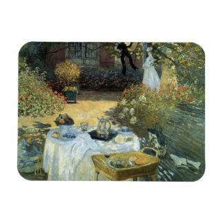 Luncheon by Claude Monet, Vintage Impressionism Magnet