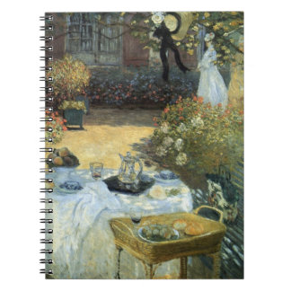 Luncheon by Claude Monet, Vintage Impressionism Notebook