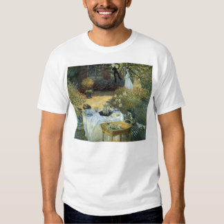 Luncheon by Claude Monet, Vintage Impressionism Tee Shirt