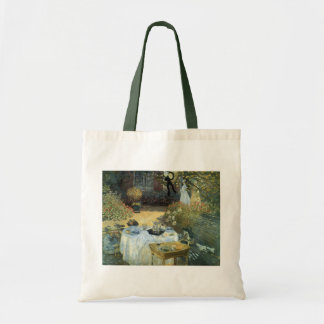 Luncheon by Claude Monet, Vintage Impressionism Tote Bag