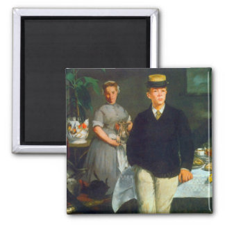 Luncheon by Edouard Manet Magnets