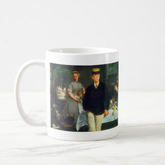 Luncheon by Edouard Manet Coffee Mugs