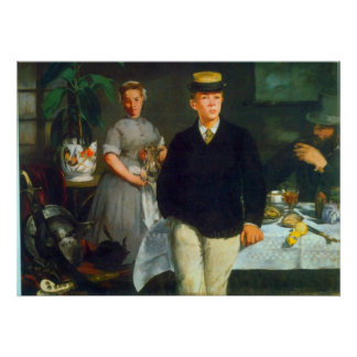 Luncheon by Edouard Manet Posters