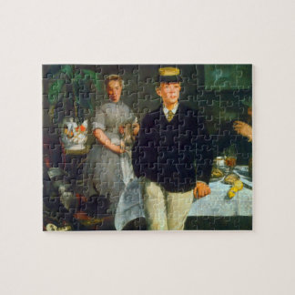 Luncheon by Edouard Manet Jigsaw Puzzles