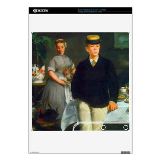 Luncheon by Edouard Manet Skin For The PS3 Slim