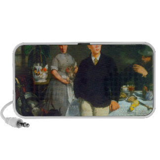 Luncheon by Edouard Manet Laptop Speakers