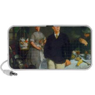 Luncheon by Edouard Manet Travelling Speaker