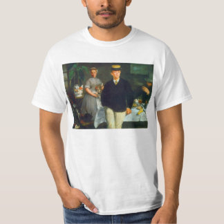 Luncheon by Edouard Manet T-Shirt