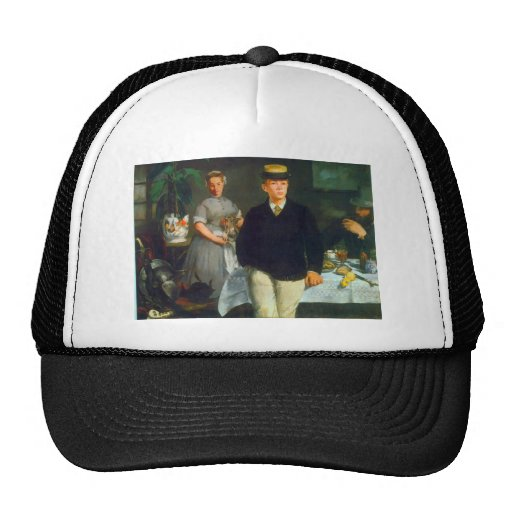 Luncheon by Edouard Manet Trucker Hat