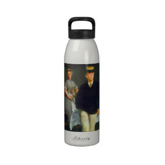 Luncheon by Edouard Manet Reusable Water Bottle