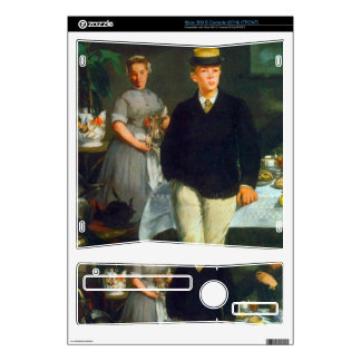 Luncheon by Edouard Manet Xbox 360 S Skin