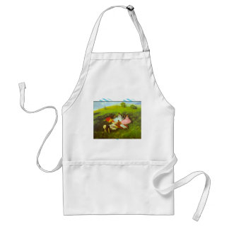 Luncheon by Pal Szinyei Merse Adult Apron