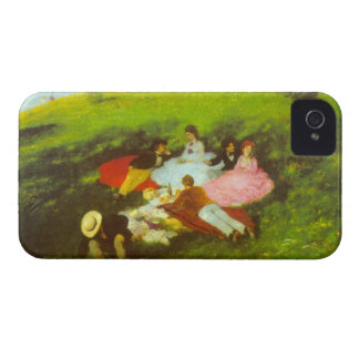 Luncheon by Pal Szinyei Merse iPhone 4 Case-Mate Case