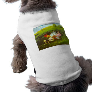 Luncheon by Pal Szinyei Merse Dog Clothing