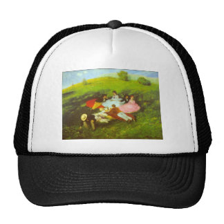 Luncheon by Pal Szinyei Merse Trucker Hat