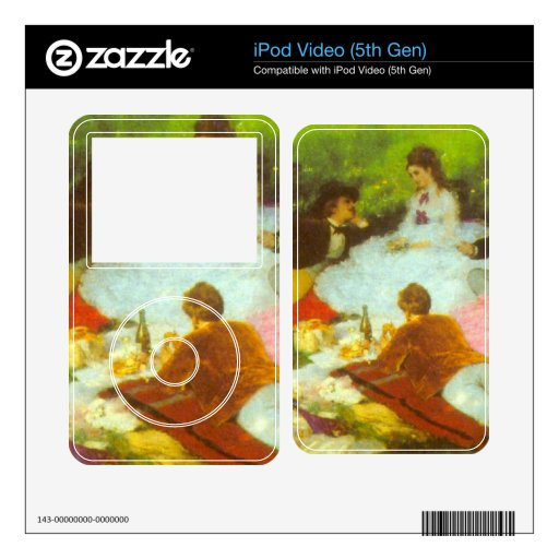 Luncheon by Pal Szinyei Merse iPod Video Decal