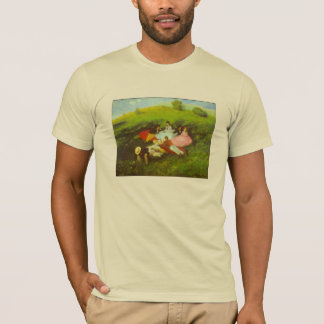 Luncheon by Pal Szinyei Merse T-Shirt