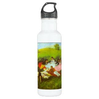 Luncheon by Pal Szinyei Merse Water Bottle