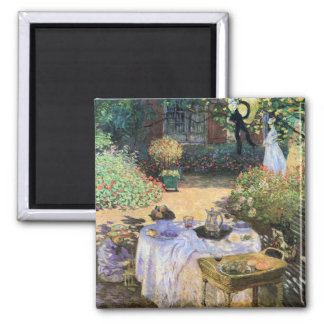 Luncheon Celebration Claude Monet Fine Art Magnet