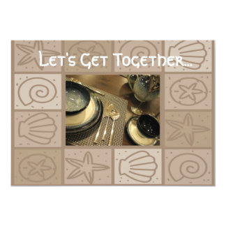 Luncheon get together invitation