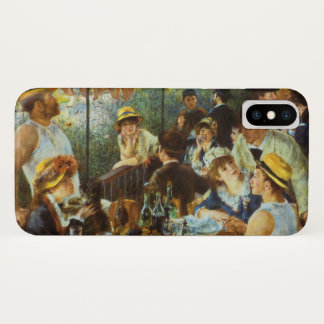 Luncheon of the Boating Party by Pierre Renoir iPhone X Case