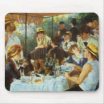 Luncheon of the Boating Party by Pierre Renoir Mouse Pad