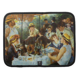 Luncheon of the Boating Party by Pierre Renoir Folio Planner