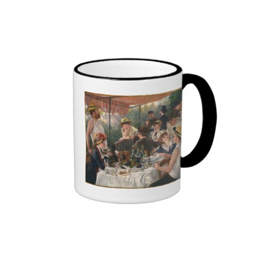 Luncheon of the Boating Party by Renoir Ringer Coffee Mug