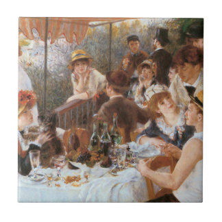 Luncheon of the Boating Party Ceramic Tile