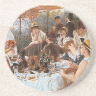Luncheon of the Boating Party Coaster