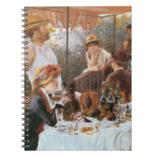Luncheon of the Boating Party Notebook