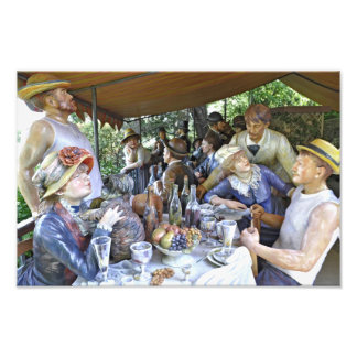 Luncheon of the Boating Party Art Photo