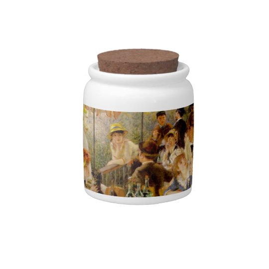 Luncheon of the Boating Party - Pierre Renoir Candy Jars