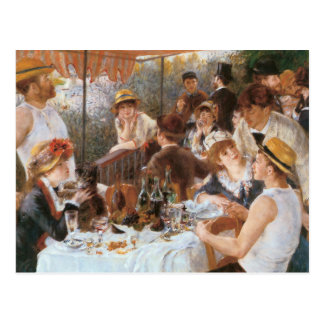 Luncheon of the Boating Party Postcard