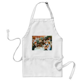Luncheon of the Boating Party, Renoir Adult Apron